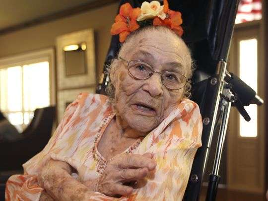 1409924817000-gertrude-weaver-ap-oldest-living-american