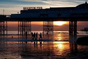 brighton-pier-sunset